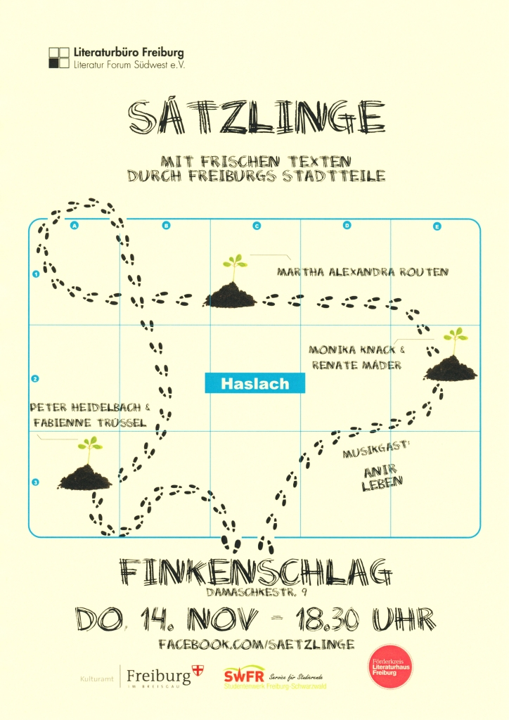 S+ñtzlinge - Veranstaltungsplakat